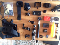 Mint GoPro Hero4 Silver + LCD Screen, 32GB SD Card, 3 Year Warranty + LOTS of Extras! Inc. postage