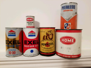 Oil and grease cans