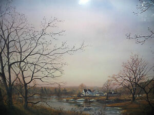 "Peter Robson ""Prelude To Spring"" Signed and Numbered Print Stratford Kitchener Area image 3"