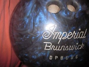 Reduced! Imperial Brunswick Bowling Package--Ball, Bag & Shoes