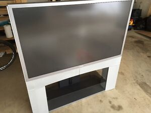 Used TV and Stand