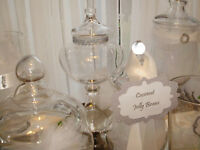 Add Elegance to Your Wedding, Shower - DIY Candy Buffet to Rent