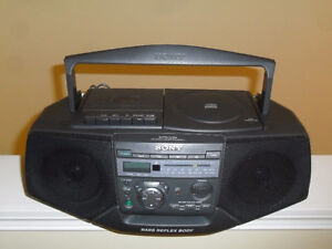 Sony  CD Radio and cassette recorder