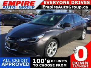 2017 CHEVROLET CRUZE BACK-UP CAMERA*HEATED SEATS - DRIVER AND PA