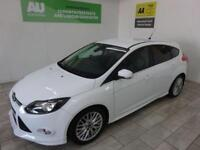 WHITE FORD FOCUS 1.0 ZETEC S ***FROM £168 PER MONTH***