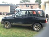 1999 Chevrolet Tracker SUV - reliable,great on gas, 4x4