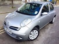 2007 NISSAN MICRA 1.4 AUTOMATIC 1 OWNER GENUINE 89K WARRANTED MILEAGE 8 STAMP F/S/H VGC