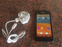Sony Xperia Z1 compact black unlocked! Average condition