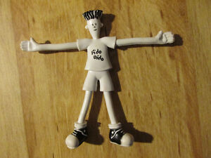 7UP 7-UP 7 UP Soda Pop Toy Figure FIDO DIDO Bendable Vintage 88