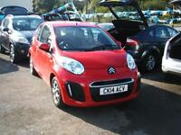 2014 Citroen C1 1.0i Edition 3d **12,000 miles / ZERO Tax**