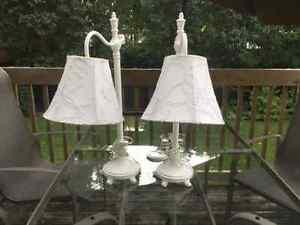 Lampes de chevet blanches