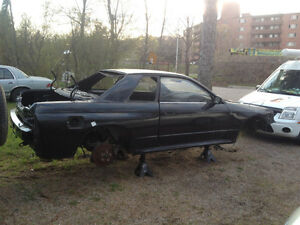 1993 skyline GTR r32 pearl black parts