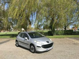 2007 Peugeot 207 1.4 16v 90 S 3 Door Hatchback Silver