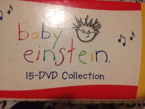 Baby Einstein 15 DVDs collection for sale London Ontario image 1