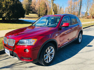 BMW X3 2011- 28i AWD-Only 95000 Km-Mint condition- no accidents