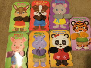 FINGER PUPPET BOOKS + ABC ANIMAlL TRAIN BOOK