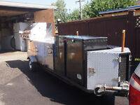 REALLY NICE MOBILE FOOD CART EXCELLENT CONDITION