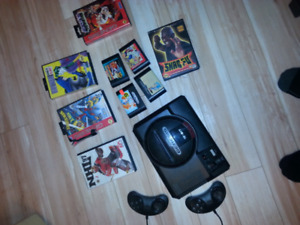 Sega Genesis and games