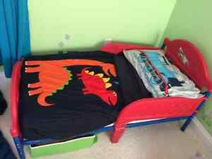 2 Lightning McQueen Toddler Beds available
