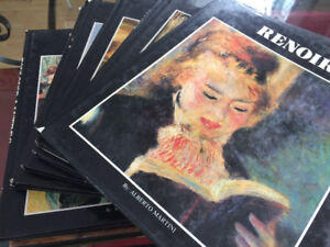 A whole lot of art books: Instant Book Collector