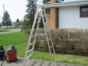 STEPLADDER (ALUMINUM 10 FOOT)