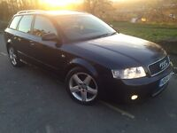 2004 Audi A4 Sport 1.9 Tdi avant estate 6 speed 130 bhp # Leather# Sunroof # 2 owners # S/history