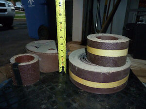 Drum Sander and rolls of emery West Island Greater Montréal image 3