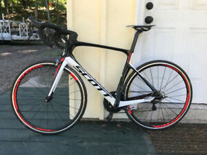 "2016 Scott Foil Full Carbon Aerobike 56"" (Large)"