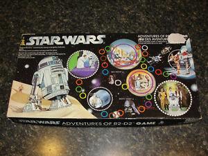 Vintage Star Wars Adventures of R2-D2 Board Game 1977