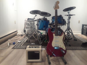Fender Squier Stratocaster et Ampli Vox