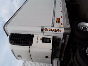 2 × 2009 53 foot refer trailers for sale