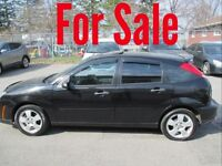 2007 Ford Focus SES 75KM Fully Loaded Very Clean $5500