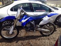 06 yz250f priced right
