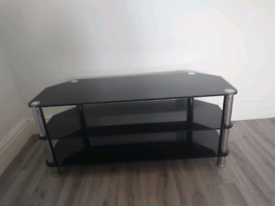 Black TV stand perfect condition