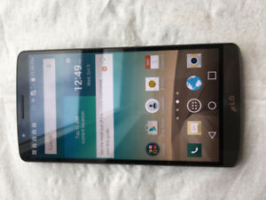 LG G3 32GB UNLOCKED GOOD CONDITION WITH CHARGER 514-679-5663