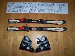RABAIS POUR FAMILLE Ensemble ski alpin 80 90 100 110 Liquidation