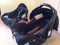 Car seat and Isofix base BOXED as new