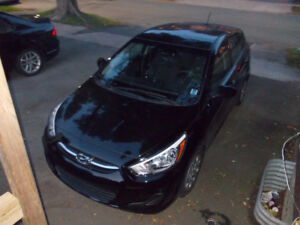 2016 Hyundai Accent GL Hatchback bought new 7 months ago