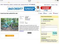 Stolen trek x-caliber mountain bike