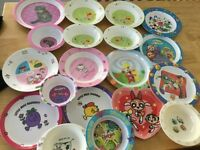 Children Plates and Bowls