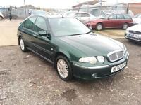 2002/02 Rover 45 1.4i Impression S LONG MOT EXCELLENT RUNNER