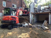 Excavator & Skidsteer for Hire with Operator