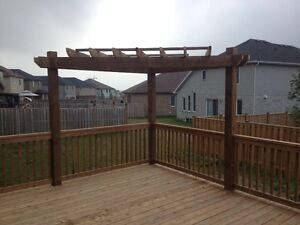 Fence deck chain link gates