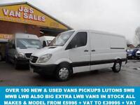 2007 57 MERCEDES-BENZ SPRINTER 2.1 213 CDI MWB 1D 129 BHP ((((((((( NO VAT TO PA