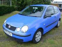 Volkswagen Polo 1.2 ( 55bhp ) 2003MY E WITH MOT FAILURE SHEET