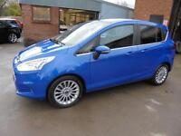 Ford B-Max 1.6TDCi Titanium. From £129 per month.