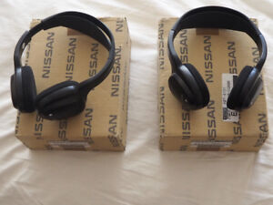 Headphone Pair for Nissan/Infiniti DVD entertainment system