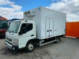 2015 MITSUBISHI FUSO CANTER FRIDGE BOX TAILIFT 7490 KG GVW EURO 6, LOW MILES,