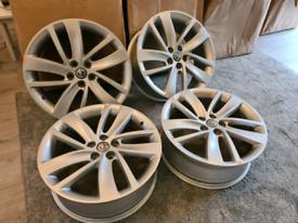 """4 x Mokka/Mokka X 5 stud 18"""" Alloy Wheels"""