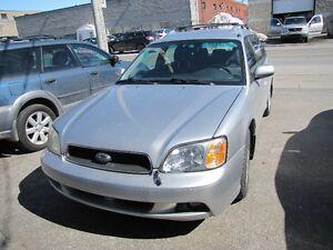 2003 Subaru Legacy 4X4 AUT 4 cylindres Familiale garantie 1 an
